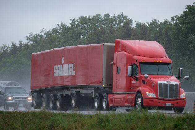 mutli-axle trailer