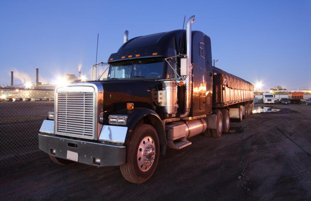 Ontario truck parking