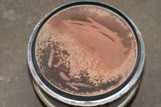 DPF filter after use