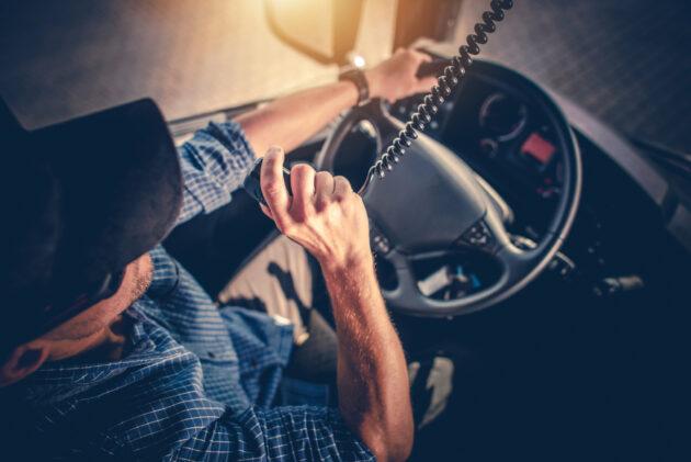 U.S. truck driver