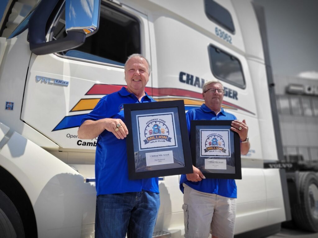 Challenger Motor Freight drivers