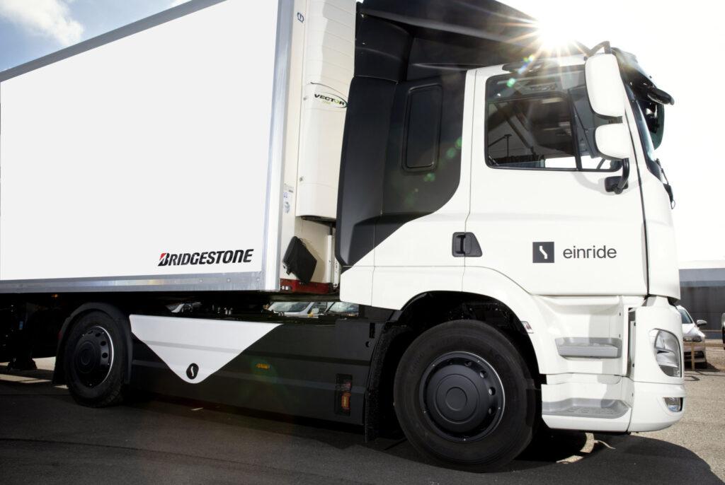 Einride electric truck