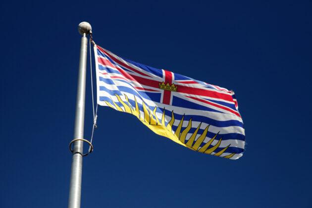B.C. flag