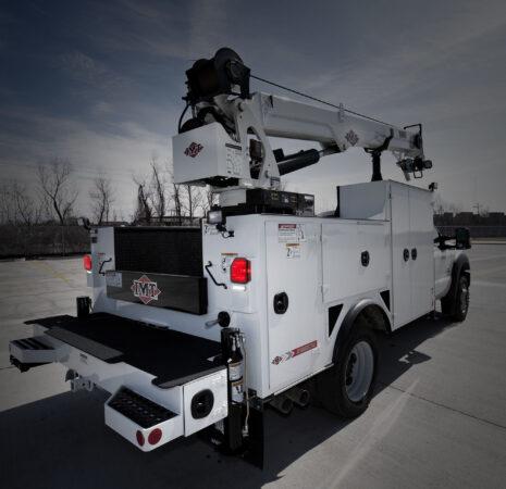 Optronics taillight on utility vehicle
