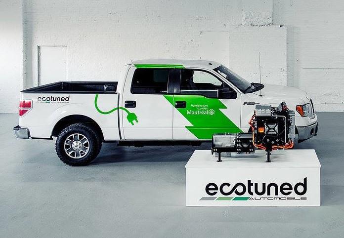 Ecotuned pickup truck