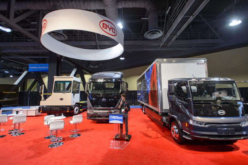 BYD Trucks