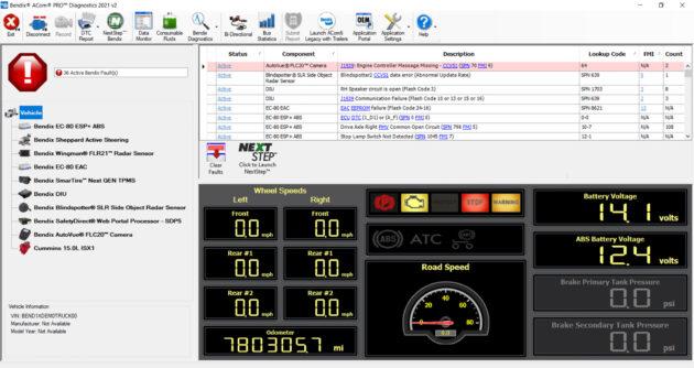 Bendix diagnostic software