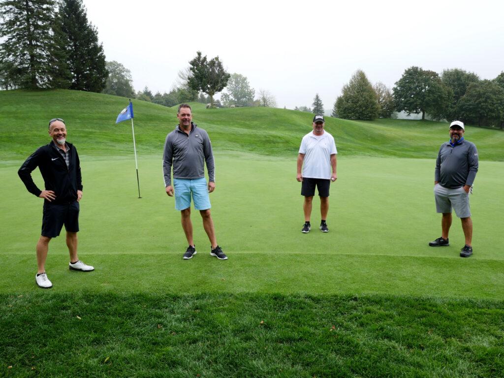 Erb Transport's golf tournament attracted 100 participants. (Photo: Erb Transport)