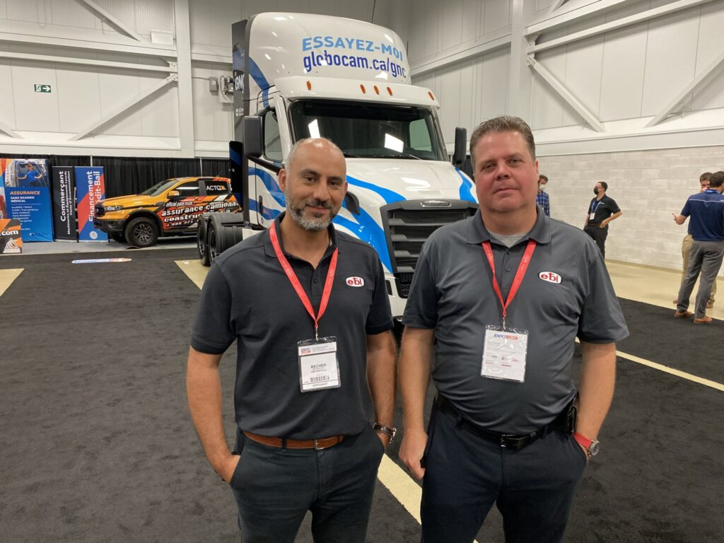 Becher Mobayed and Richard Prevost of EBI Energie