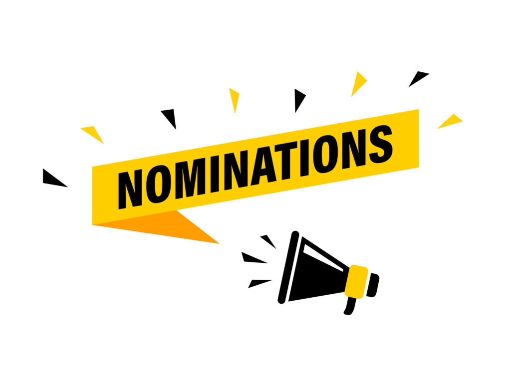 nominations sign