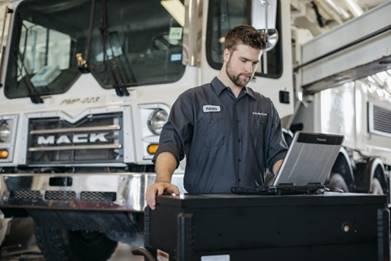 Mack Trucks maintenance