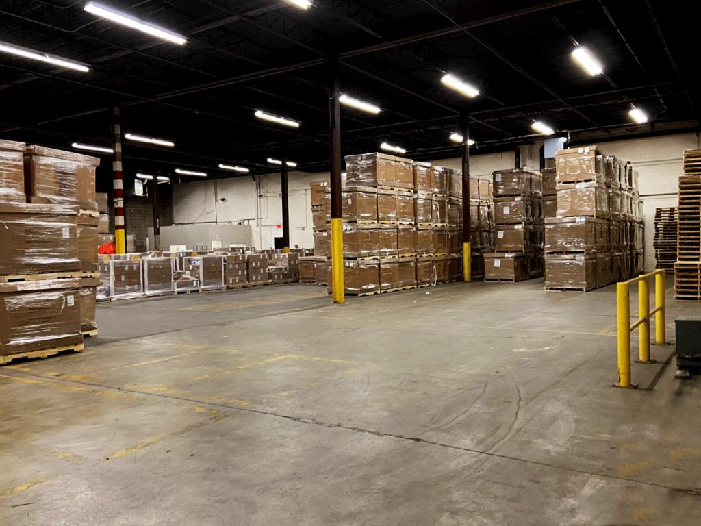 The 36,000-square-foot warehouse in Lachine, Que. (Photo: Drakkar Logistics)